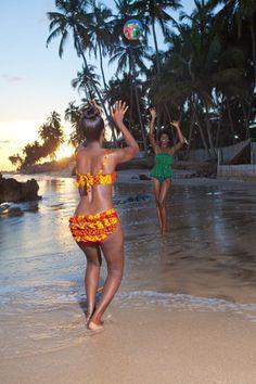 I want to #findmyjoy with some beach fun. Bonus points on the adorable bikini!