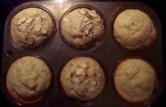 Banana Almond Muffins Almond Muffins, Hungry Hungry, Wine Drinks, Banana, Breakfast, Sweet, Food, Morning Coffee, Candy