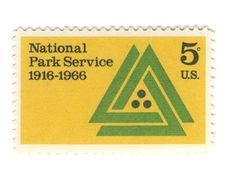 1966 Unused Vintage Postage Stamps - National Park Service - NPS - 10 Unused US Postage Stamps  Type of Stamp: Commemorative Scott Cat No.: 1314 Face Value: 5 cent Year of Issue: 1966  This listing is for 10 total stamps of the design pictured above. These are genuine, never before used postage stamps with original gum (adhesive). You may place your stamps anywhere on the envelope. As long as the postage adds up to the current postage rate you are good to go.