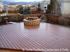 Deck With Fire Pit Designs | Fire Pits For Outdoor Deck Decor | Patio Deck  Designs Idea | Home Project | Pinterest | Fire Pit Designs, Deck Design And  ...