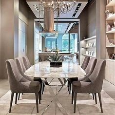 If you're looking for the perfect dining tables to improve your house design, don't look further anymore, we provide you the ultimate inspiration.See more interior design ideas here www.covethouse.eu