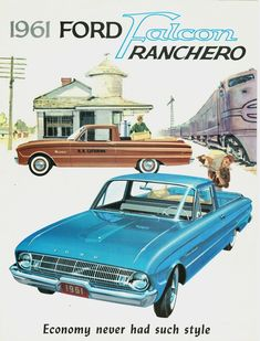 1961 Ford Ranchero/Falcon ad
