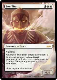 Sun Titan /  ATTACK ON TITAN! by JackDRipperz