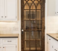 Home Remodeling Farmhouse Upgrade your kitchen with one of these cool pantry door ideas 60 opening. Whether you're loving farmhouse kitchens or want something modern, there's a door for you. Home Kitchens, Farmhouse Kitchens, Dream Kitchens, Modern Farmhouse, Farmhouse Style, Farmhouse Sinks, Antique Farmhouse, Beautiful Kitchens, Vintage Home Decor