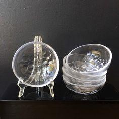 Boda Grape Glass Bowls Designed by Ann Warff Vintage 80s | Etsy