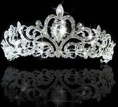 Bridal Tiaras And Headbands: Wedding Bridal Crown Headband Tiara Crystal Rhinestone Headpiece