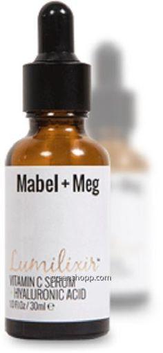 Mabel and Meg Lumilixir serum