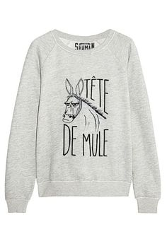 "Sweat ""Je vous déclare ma flemme"" - New Tutorial and Ideas Cool Shirts, Funny Shirts, Tee Shirts, Outfits Niños, Fashion Outfits, Sweat Original, Message T Shirts, Look Girl, Mode Style"
