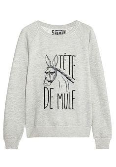"""Sweat """"Tête de mule"""""""