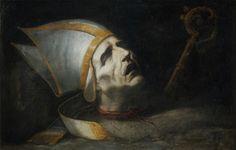 The Head of Saint Fulgentius ~ by Juan Valdes Leal…