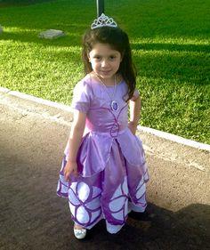 Traje princesita Sofía