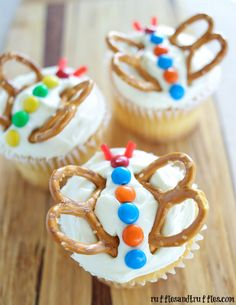 So cute! Butterfly cupcakes