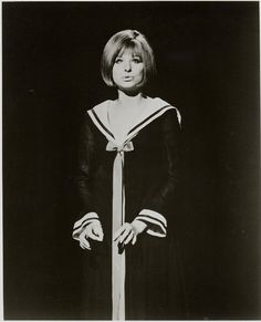 Barbra Streisand My Name Is Barbra Sailor Dress - Jun 2004 Funny Girl Musical, Sailor Dress, Barbra Streisand, Beautiful Voice, Female Singers, I Icon, Hello Gorgeous, Lady And Gentlemen, My Name Is