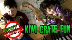 For Christmas this year both kids got a subscription to and in this video we open up our first ones and build them for your viewing pleasure. Kiwi Crate, Crates, Toys, Fun, Gaming, Games, Toy, Shipping Crates