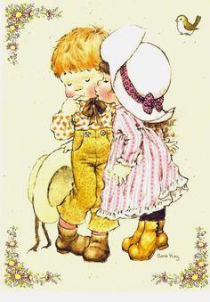sarah kay drawings coloring pages Sarah Key, Holly Hobbie, Mandy Kay, Heart Illustration, Sweet Pic, Coloring Book Pages, Digi Stamps, Illustrations, Vintage Postcards