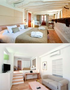 Hotel Can Simoneta | Boutique Hotel | Spain | http://lifestylehotels.net/en/can-simoneta | rooms, light, design, modern