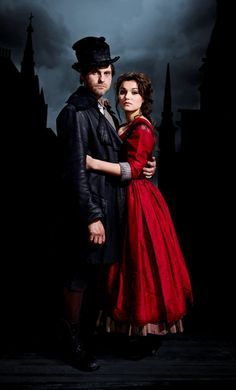 Iain Fletcher as Bill Sikes and Samantha Barks as Nancy // Oliver! I wish I could have seen this!