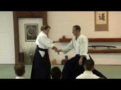 Micheline Tissier 6th Dan Aikido France - YouTube