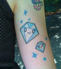 cute kawaii diamonds tokidoki tattoo sparkle