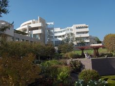 Getty Museum of Art, Los Angeles CA Designed by Architect Richard Meier  #architectire #museum #design  #gettymuseum #losangeles