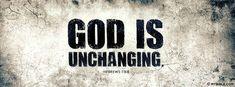 Hebrews 13:8 NKJV - God Is Unchanging. - Facebook Cover Photo