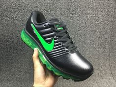 Cheap Nike Air Max 2017 Leather Black Green Mens shoes Wholesale Nike Air  Max 2017 shoes Discount Only Price  67 To Worldwide Free Shipping 72d2202c857e