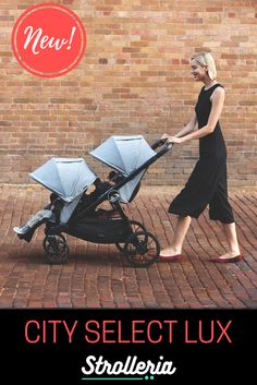 The new City Select LUX stroller from Baby Jogger can be a single or double with 20 different configurations! Shop Strolleria for free shipping and no sales tax. Double Strollers, Baby Strollers, 20 Min Cardio Workout, City Jogger, City Select Lux, Convertible Stroller, Baby Jogger City Select, Single Stroller, Sun Canopy