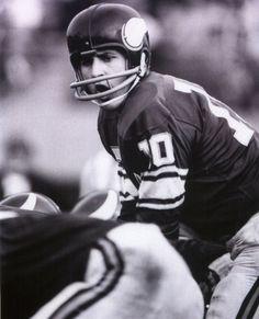 Minnesota Vikings Quarterback - Fran Tarkenton