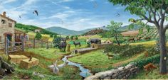 I colori di Conci- Conci's colours: Countryside- Co-author S.Maugeri, Biopark of Rome