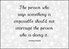 Which person are you?  The one interrupting..  or the one doing it?