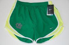 WANT  Monogrammed Kelly Green – Lemon Nike Tempo Short $48
