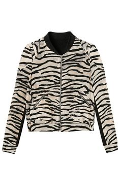 Silk Tiger print bomber jacket from Rebecca Taylor. If I has to pick a designer to love the most, it'd be her.