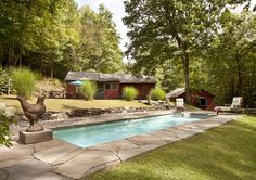VRBO.com #434452 - Idyllic & Romantic Woodstock Private Country Home with Saline Pool