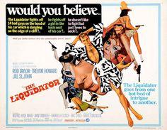 『殺しのエージェント(The Liquidator)』 1965年 ロッド・テイラー  ジル・セント・ジョン トレィバー・ハワード