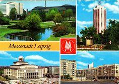 Messestadt Leipzig , DDR , AK 19?? gel. | eBay
