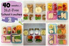 40 Weeks of Nut Free School Lunches - Week 2