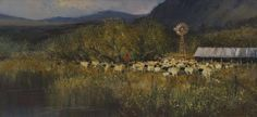View Sheep at sundown by Christopher Tugwell on artnet. Browse upcoming and past auction lots by Christopher Tugwell. Sheep, Past, Artist, Painting, Artists, Painting Art, Paintings, Paint, Draw