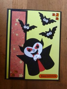 Punch Art, Hallowe'en, Dracula by Carolynn - Cards and Paper Crafts at Splitcoaststampers