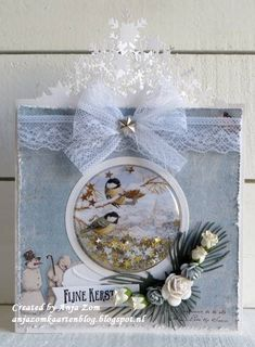 Christmas Cards, Christmas Decorations, Table Decorations, Marianne Design, Shaker Cards, Hanukkah, Snow Globes, Cardmaking, Wreaths