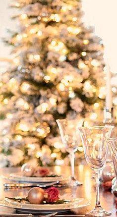 Christmas table....