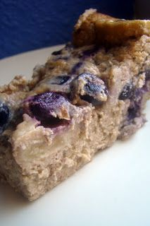 Nourished and Nurtured: Blueberry Banana Spiced Custard Cake (nutrient-dense : GAPS : primal : gluten-free : grain-free)