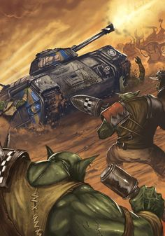 indeed, let us all celebrate what unites us all, Xenophobia Diesel, Orks 40k, 40k Imperial Guard, Far Future, Warhammer 40k Art, Anime Version, The Grim, Starcraft, Modern Warfare