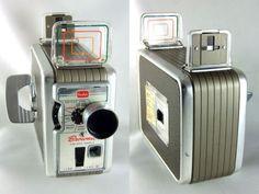Vintage Kodak Brownie 8mm Movie Camera II Old Cinema 1950s Working Instructions