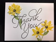My Creative Corner!: Avant-Garden, So Very Much, Thank You Card, Stampin' Up!, Rubber Stamping, Handmade Cards