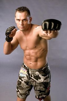 "UFC fighter Rich ""Ace"" Franklin. One of my favorite fighters"