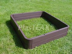 Merveilleux Plastic Garden Beds   Raised | PlasTEAK Inc.