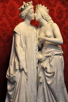 L'Italie reconnaissante - 1862. Vicenzo VELA (1820-1891). Musée national du Château de Compiègne