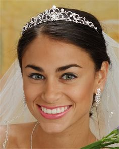 The Bridal Veil Company Tiaras - Style 4525