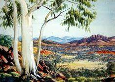 albert namatjira paintings - Google Search