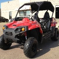 TrailMaster Challenger 150cc UTV Utility Vehicle Extended Version  LIST PRICE: $4,550.95 TOMORROW'S PRICE: $4,050.95 FEB. 17th 11 HR. SALE: $3,299.95